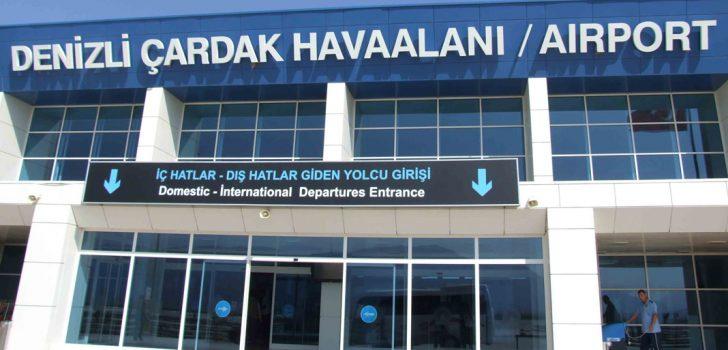 ÇARDAK HAVALİMANI'NDA 53 BİN YOLCUYA HİZMET VERİLDİ