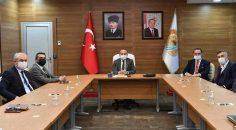 MHP'DEN VALİ ATİK'E NEZAKET ZİYARETİ