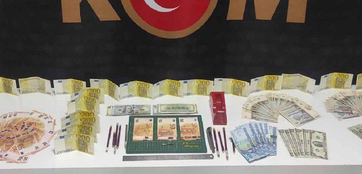 DENİZLİ'DE SAHTE PARA OPERASYONU