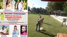 BULDAN'DA FESTİVAL HAZIRLIKLARI TAMAM
