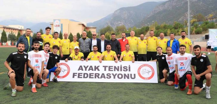 AYAK TENİSİNDE ŞAMPİYON PAMUKKALE'DE BELİRLENDİ